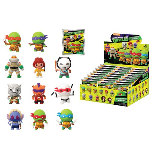 TMNT Series 2 3-D Figural Key Chain 6-Pack