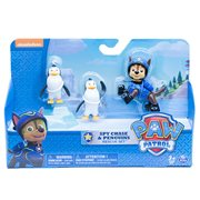Paw Patrol Rescue Pup Chase and Penguin Figure