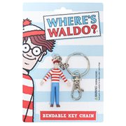 Where's Waldo? Bendable Key Chain