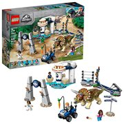 LEGO 75937 Jurassic World Triceratops Rampage
