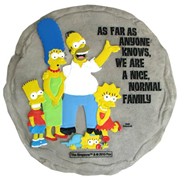 The Simpsons Normal Family Stepping Stone