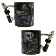 Star Wars 3D Lightsaber 20 oz. Ceramic Mug