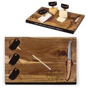 Star Wars Rebel Delio Acacia Cheese Board and Tools Set