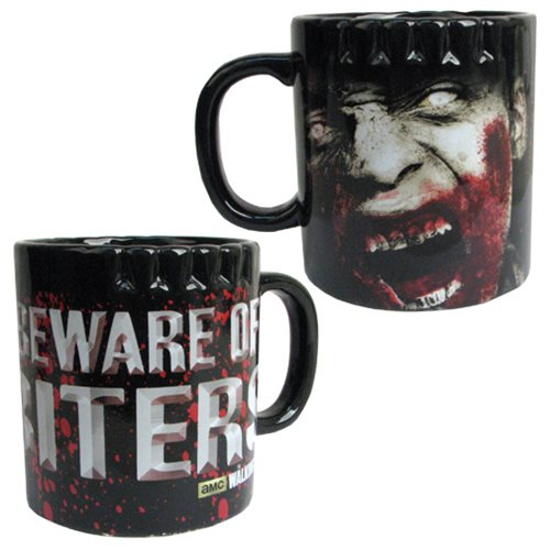The Walking Dead Biters Ceramic Molded Mug