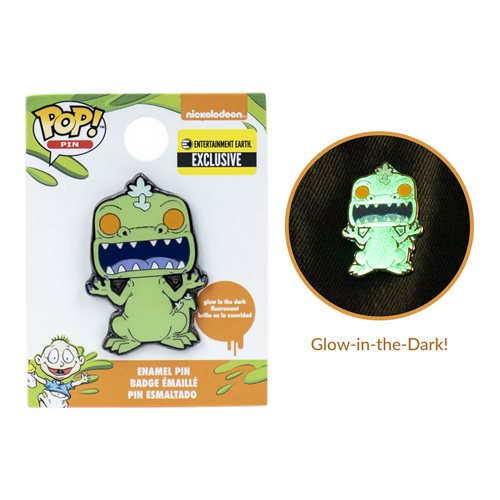 Rugrats Reptar Glow-in-the-Dark Pop! Pin - EE Exclusive