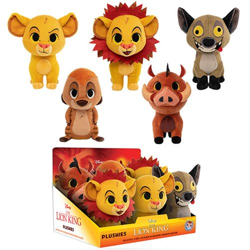 Lion King SuperCute Plush Display Case