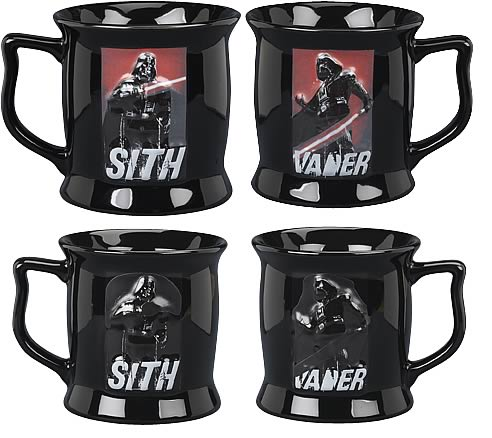 Star Wars Darth Vader Color Changing Sculpted Mug Entertainment Earth