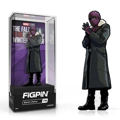 The Falcon and Winter Soldier Baron Zemo FiGPiN Classic 3-Inch Enamel Pin