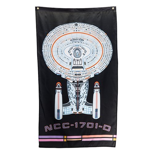 Star Trek: The Next Generation Enterprise NCC-1701 D Banner