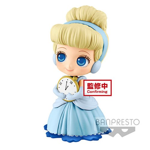Disney Cinderella #Sweetiny Light Color Q Posket Statue