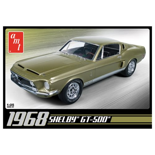 1968 Shelby GT500 1:25 Scale Model Kit