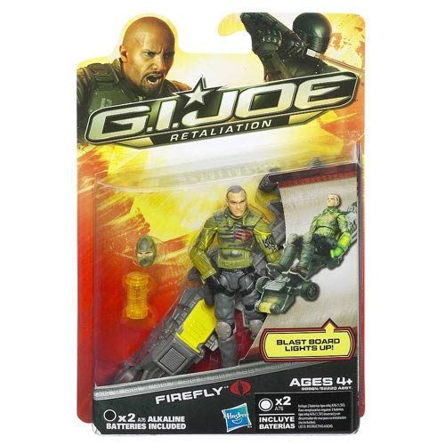 G.I. Joe Retaliation Firefly Action Figure, Not Mint
