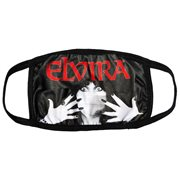 Elvira Classic Red Logo Face Mask