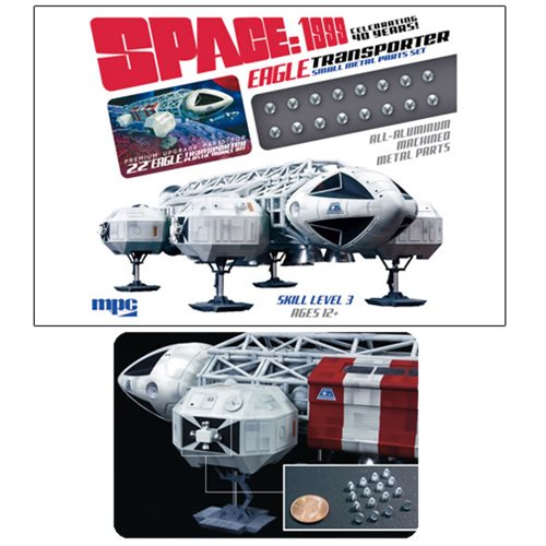 Space 1999 Eagle Transporter Small Metal Parts Pack