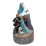Disney Traditions Frozen Carved By Heart Statue, Not Mint