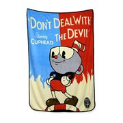 Cuphead Don't Deal with the Devil Flannel Fleece Blanket