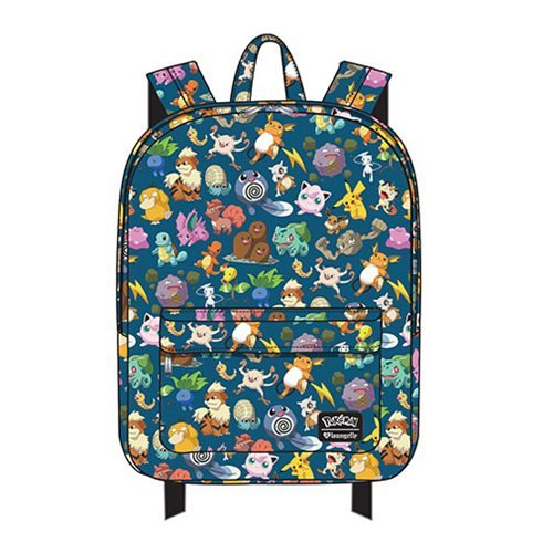 Pokemon All Time Fave Print Nylon Backpack