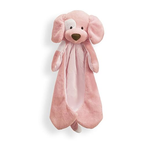 Spunky Dog Huggybuddy Pink Plush Blanket