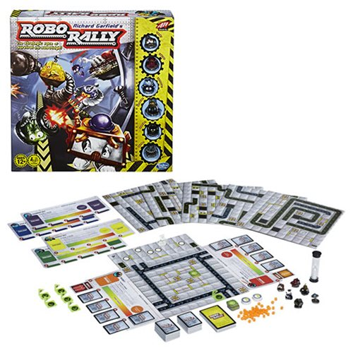 Richard Garfield's Robo Rally Avalon Hill Game