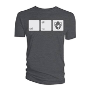 Doctor Who Cyberman Ctrl-Alt-Del T-Shirt
