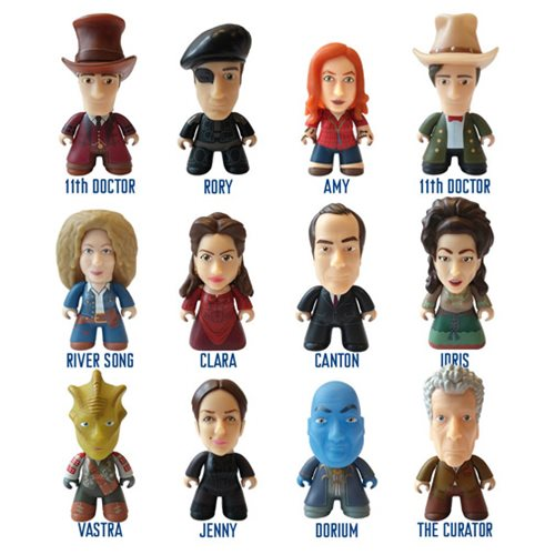 Doctor Who The Good Man Collection Mini-Figure Display Case