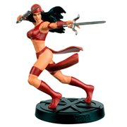 Marvel Fact Files Special #17 Elektra Statue with Collector Magazine