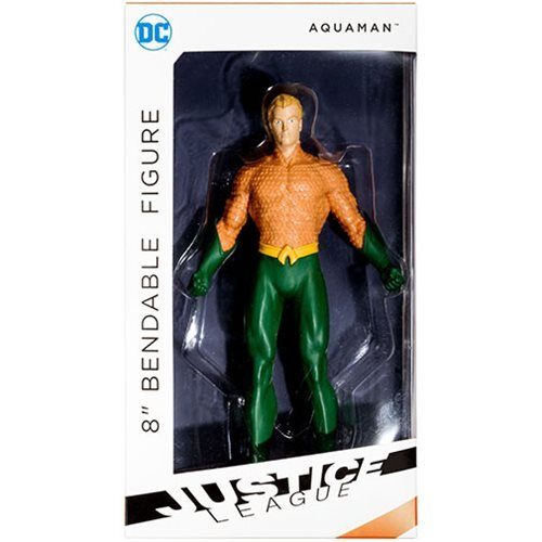 Justice League New 52 Aquaman 8-Inch Bendable Action Figure
