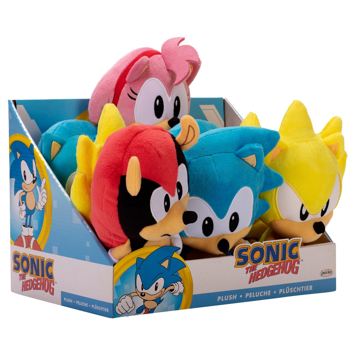 Sonic The Hedgehog 7 Inch Basic Plush Wave 2 Case Entertainment Earth