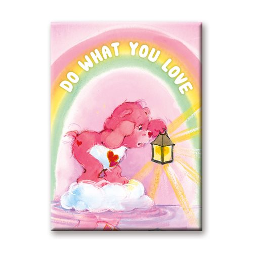Care Bears Love Flat Magnet