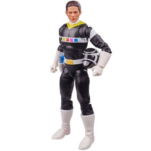 Power Rangers Lightning Collection In Space Black Ranger 6-Inch Action Figure