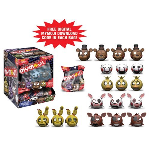 Five Nights at Freddy's Mymoji Mini-Figure Random 4-Pack