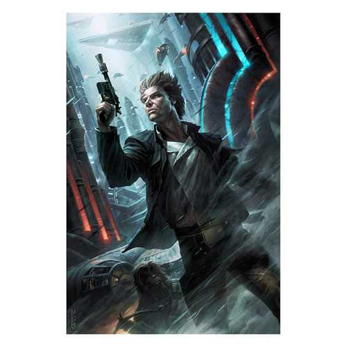 Star Wars Ahead of the Odds by Raymond Swanland Gallery Wrapped Canvas Giclee Art Print