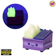 Dumpster Fire Evil Trash Mistress Glow-in-the-Dark Vinyl Figure - Entertainment Earth Exclusive