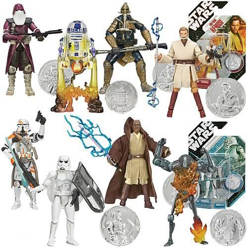 Star Wars 30th Anniversary Figures Wave 1 Revision 1