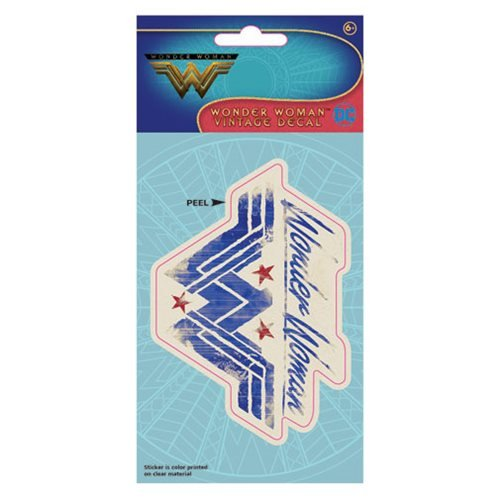 Wonder Woman Movie Vintage Logo Decal
