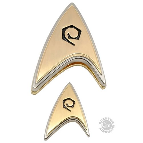 Star Trek: Discovery Enterprise Operations Badge and Pin Set