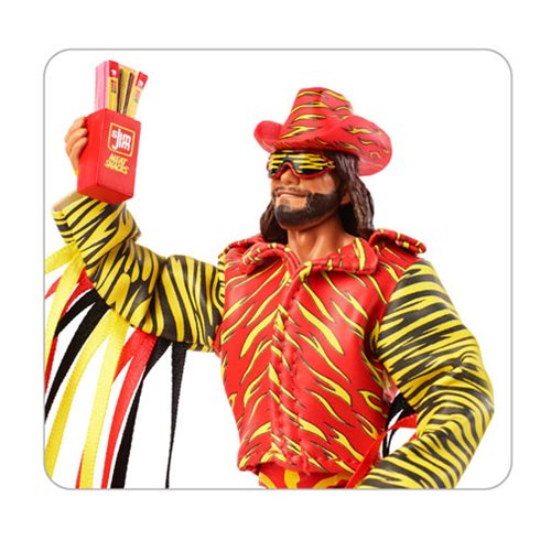 WWE Macho Man Randy Savage Elite Collection Action Figure - Convention Exclusive