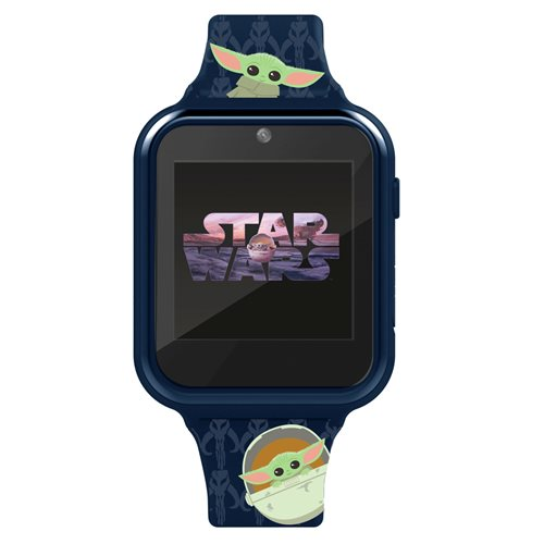 Star Wars The Mandalorian The Child Children's Touch Screen Smart Blue Watch