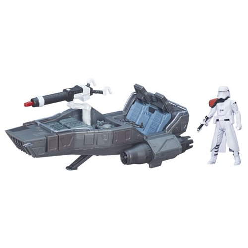 Star Wars: The Force Awakens First Order Snowspeeder Vehicle, Not Mint