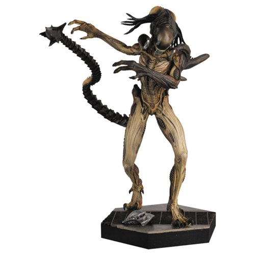 Alien and Predator AVP Predalien Statue with Collector Magazine #11