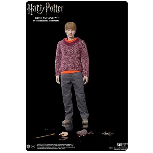 Harry Potter The Prisoner of Azkaban Ron Weasley Special Version 1:6 Scale Action Figure