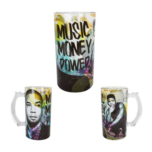 Empire TV Series Music Money Power 16 Oz. Beer Mug