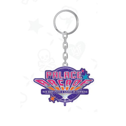 Stranger Things Palace Arcade Logo Key Chain