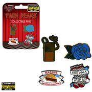 Twin Peaks Enamel Pin Set of 4 - Entertainment Earth Exclusive