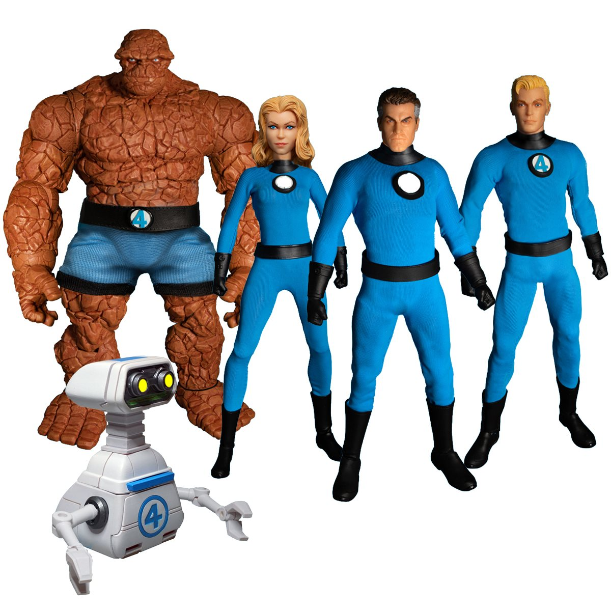 Fantastic Four One:12 Deluxe Boxed Set - Entertainment Earth