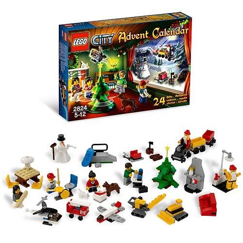 Lego City 2824 City Advent Calendar Entertainment Earth