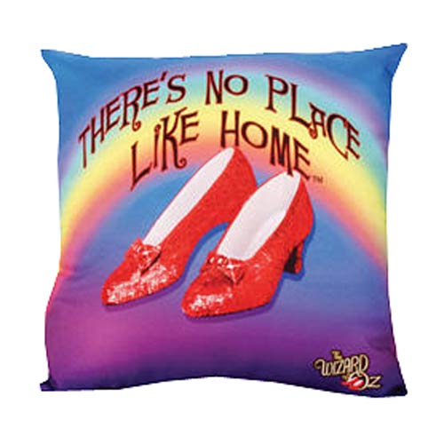 The Wizard of Oz No Place Like Home Throw Pillow