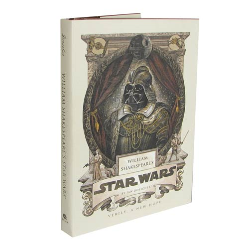 Star Wars William Shakespeare's Star Wars A New Hope Hardcover Book