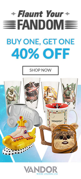 Buy One Get One 40% Off Flaunt Your Fandom Vandor Sale