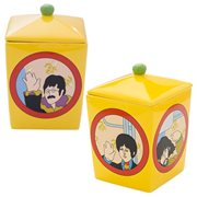 The Beatles Yellow Submarine Ceramic Cookie Jar